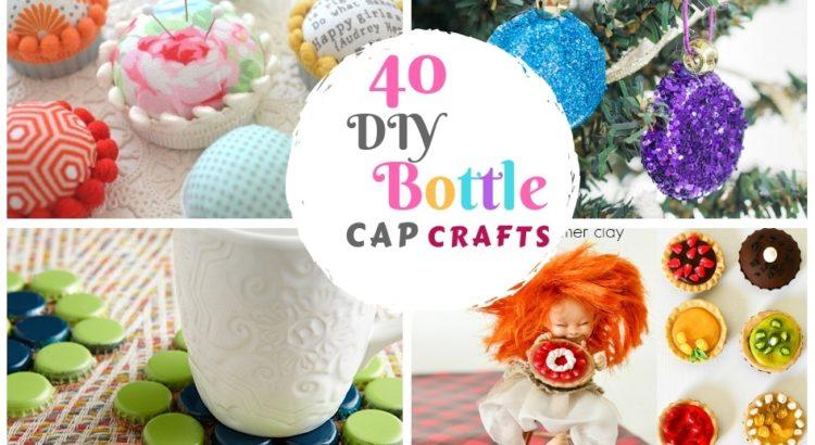 40 Diy Bottle Cap Craft Ideas Creative Bottle Cap And Plastic Lid Arts