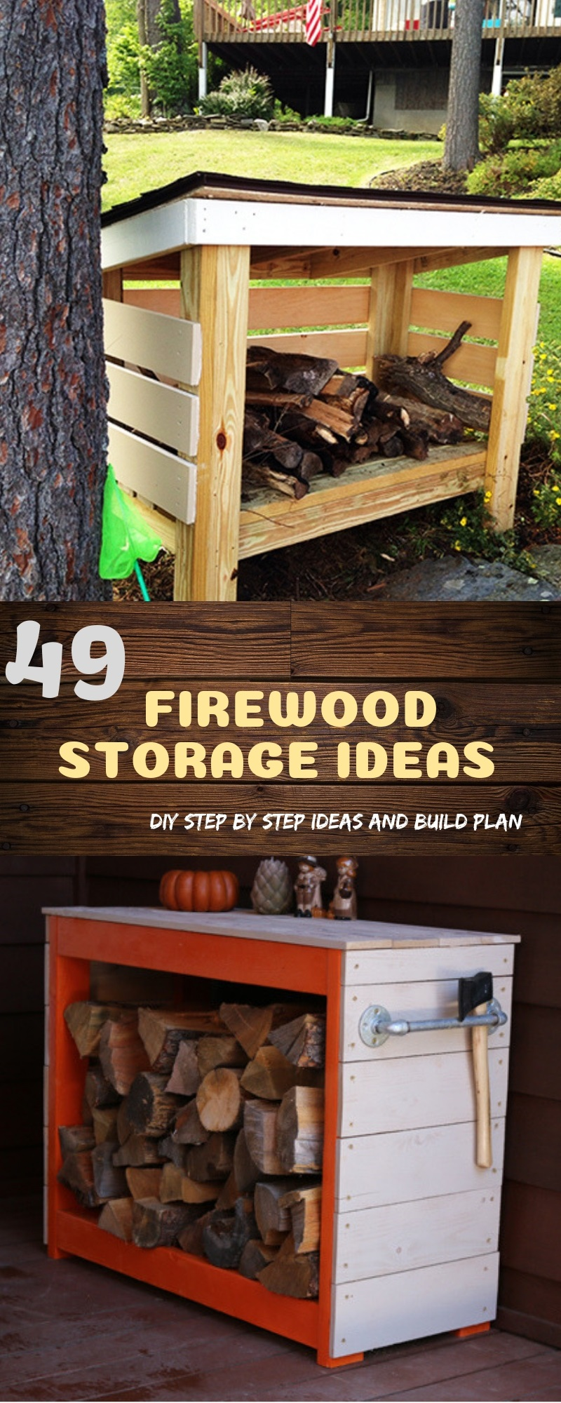 Picture of: 49 Diy Firewood Storage Ideas Seasoning Outdoor Sheds And Indoor Racks