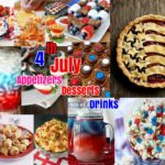 DIY Food Ideas: 34 Desserts Appetizers Drinks recipes for 4th July Celebration