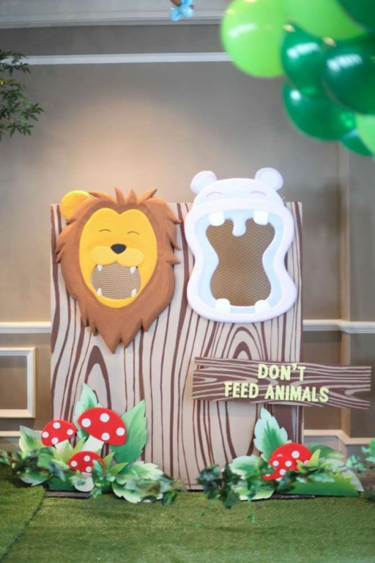 Decorating Ideas > Some Astonishing DIY Birthday Party Ideas For Zoo & Jungle  ~ 200332_Birthday Party Ideas Zoo Animals