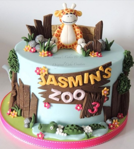 Cake Design Animal : Some Astonishing DIY Birthday Party Ideas for Zoo & Jungle ...