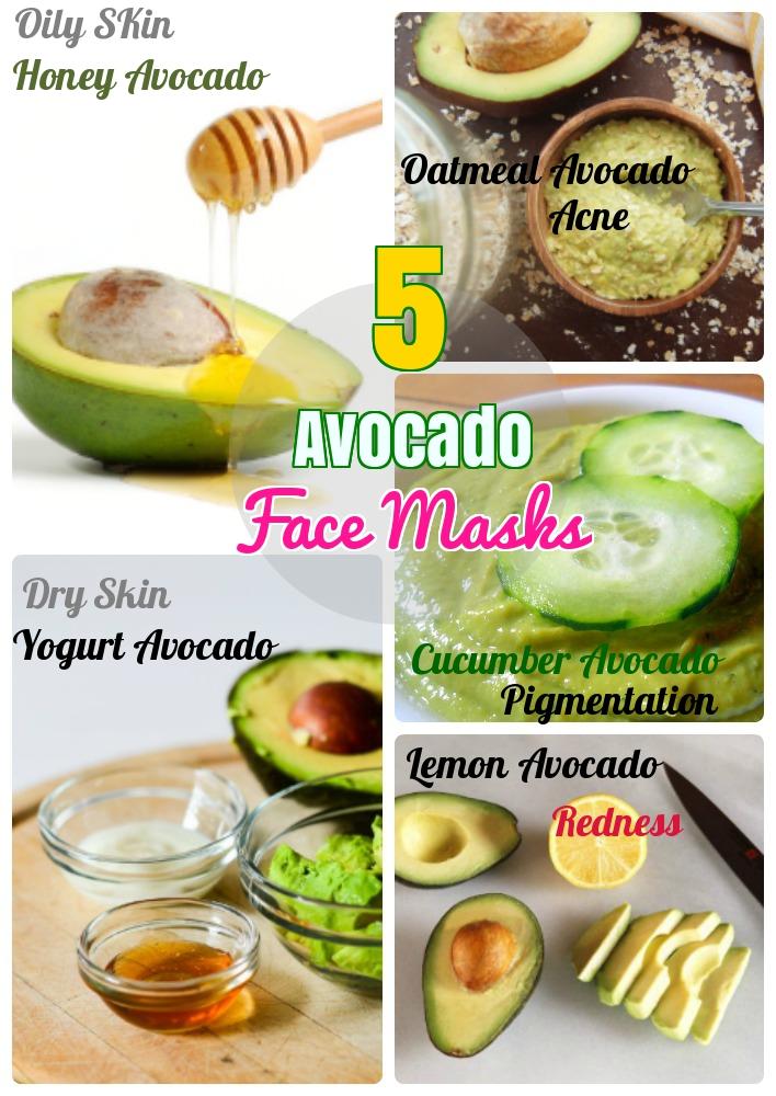 Avocado Face Masks
