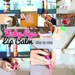 DIY Lip balm: Homemade Coconut Oil Baby Lips Tinted Lip Balm