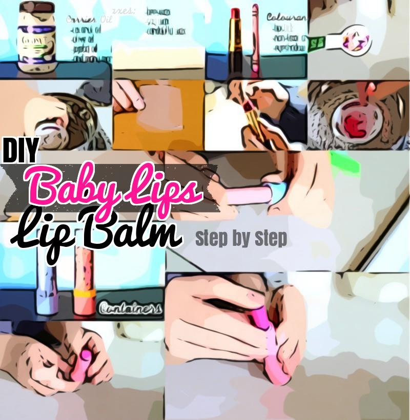 Baby Lips Lip balm DIY Homemade lip balm