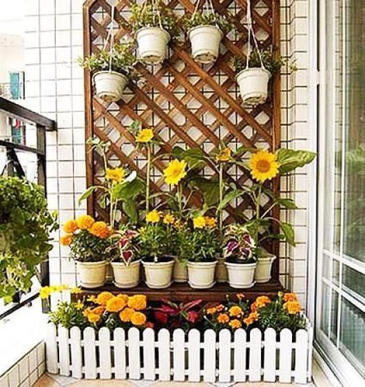 Garden Balconies: DIY Garden: Top Gardening Ideas For Small Balcony Garden