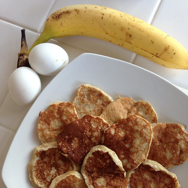 Banana Egg Pancake