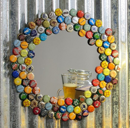 19 easy and striking diy bottle cap craft ideas diy for How to make a table out of bottle caps