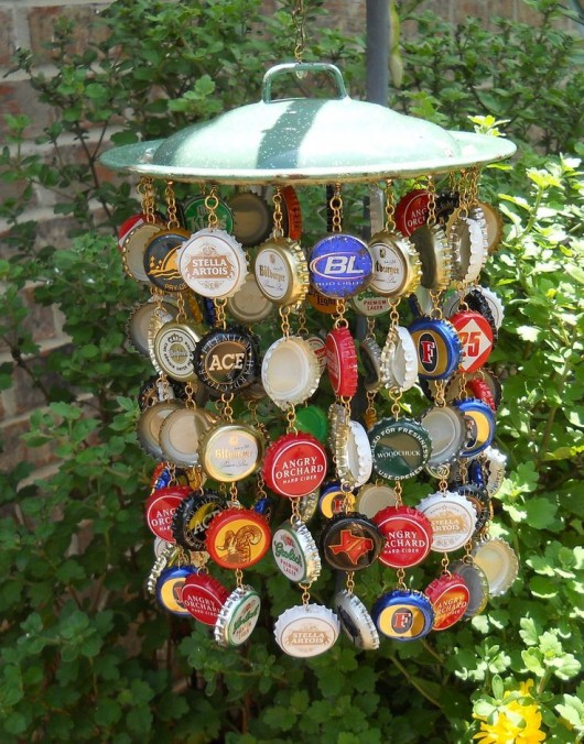19 easy and striking diy bottle cap craft ideas diy for How to make bottle cap flowers