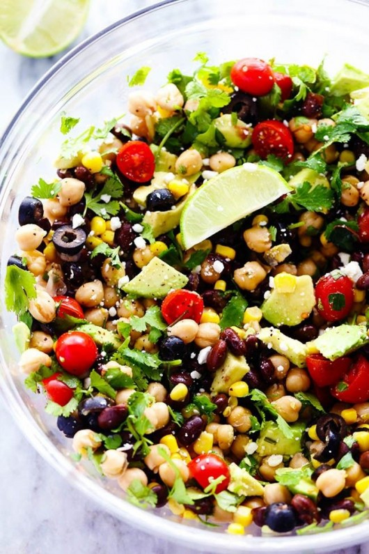 DIY Salad Recipe: 29 Hale and Hearty Chickpea Salad Recipes - Diy Food ...