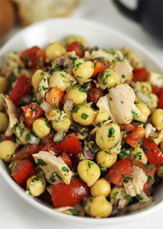 DIY Salad Recipe: 29 Hale and Hearty Chickpea Salad Recipes - Diy Food ...