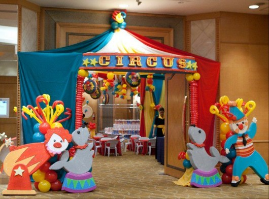 Circus-birthday-party