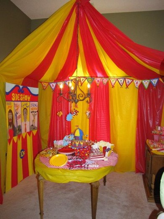 28 Circus Carnival Themed Birthday Party Ideas for Kids