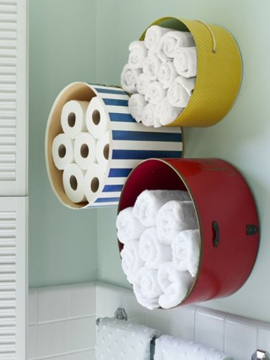 diy clever storage ideas : 15 bathroom organization and creative