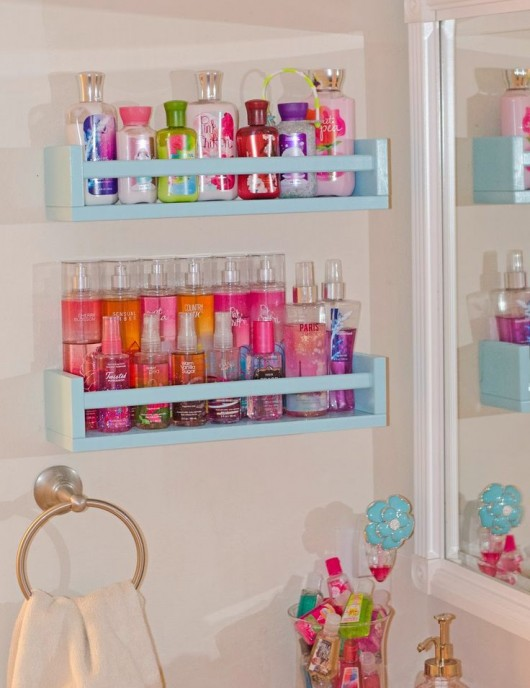 Diy clever storage ideas 15 bathroom organization and for Cool bathroom ideas for girls