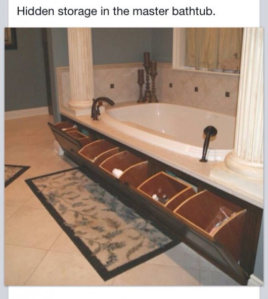 Unused Bathtub Storage Ideas - Bathtub Ideas