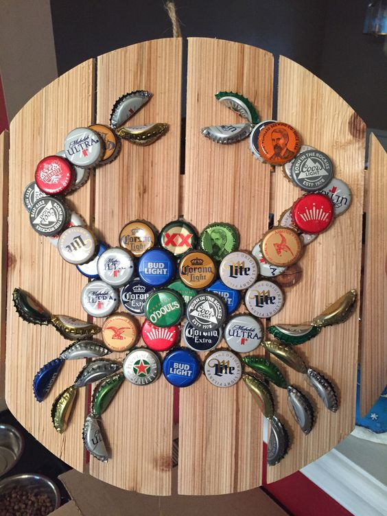 40 Diy Bottle Cap Craft Ideas Creative Bottle Cap And