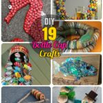 19 Easy and Striking DIY Bottle Cap Craft Ideas