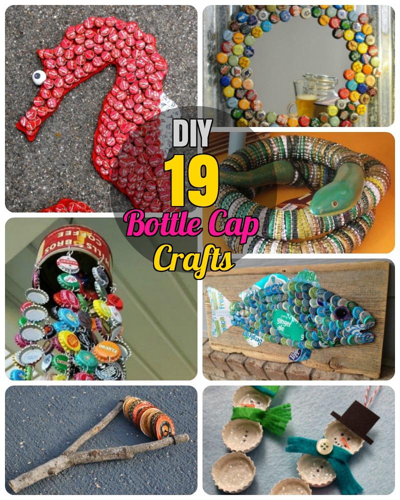 DIY Bottle Cap crafts