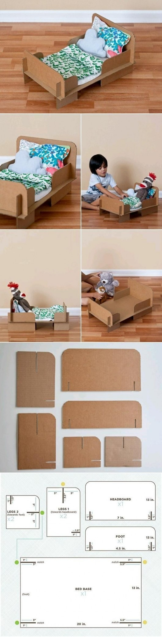 DIY Household Cardboard Furniture Ideas