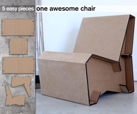Diy Household Cardboard Furniture Ideas