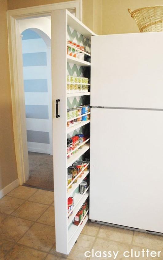 Diy Storage Ideas 24 Space Saving Clever Kitchen Storage And
