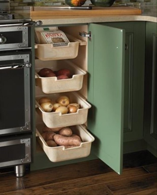 Kitchen Storage Diy diy storage ideas: 24 space saving clever kitchen storage and