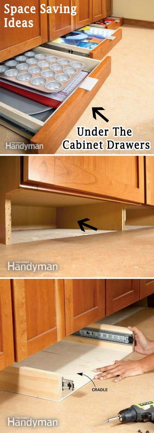 DIY Storage Ideas: 24 Space Saving Clever Kitchen Storage and ...