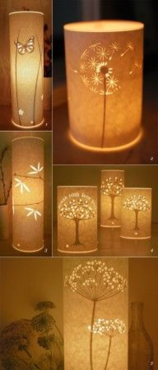 9 incredibly striking diy lamp shade ideas for your house diy diy lighting ideas homemade lamp shades aloadofball Choice Image