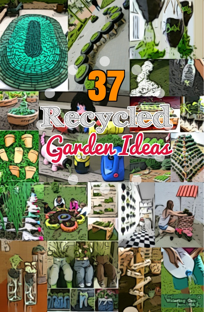 DIY Recycled Garden Ideas