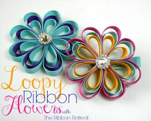 DIY-Ribbon-Flower