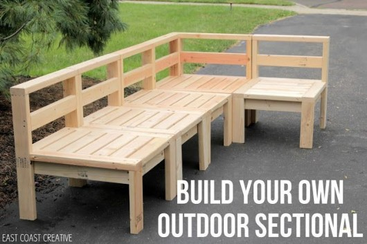 This is relaxing 18 diy outdoor furnitures recycled for Build your own couch cheap