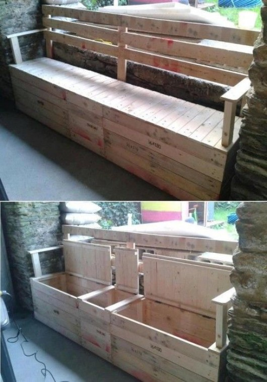 diy outdoor furniture pallet sofa with - Garden Furniture Using Pallets