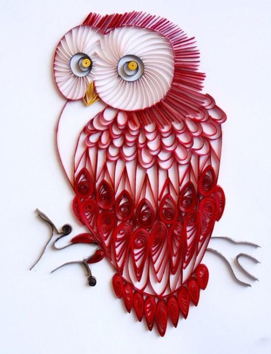DIY Owl Paper Craft