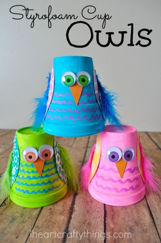 DIY Birds Craft: 24 Easy Paper Owl Craft Ideas for Kids