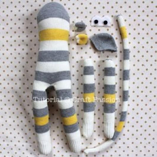 Diy Craft From Baby Sock