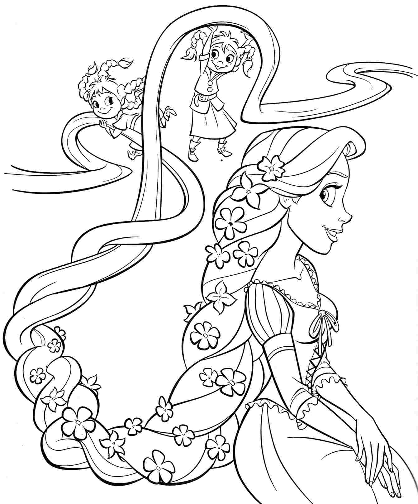 disney themed birthday coloring pages - photo#10