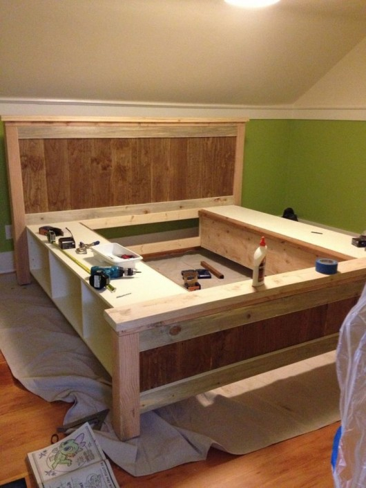 DIY Storage Bed Ideas For Small Places Diy Craft Ideas Gardening - Diy storage bed ideas