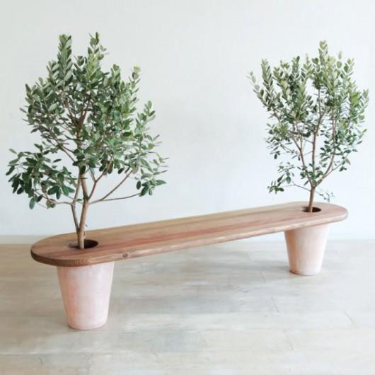 Diy-garden-bench-idea