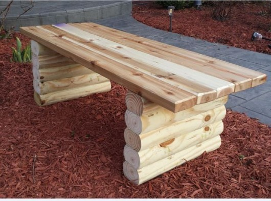 easy diy outdoor furniture garden bench