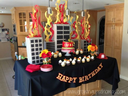 Fire Trucks And Fighter Birthday Party Ideas Diy