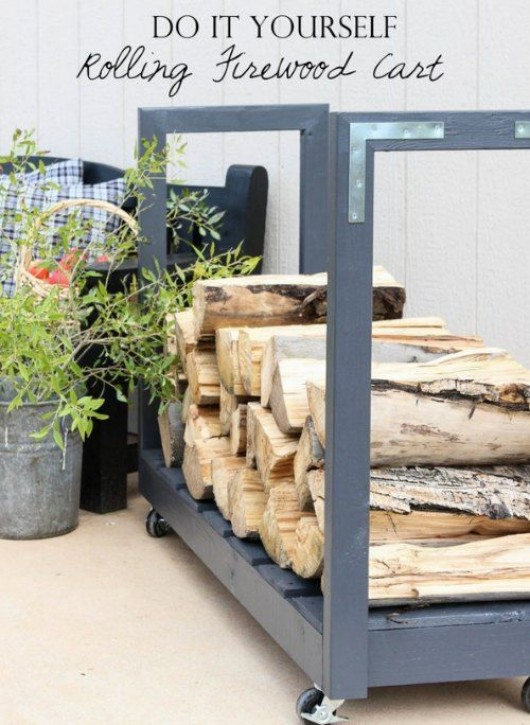 Firewood-holder