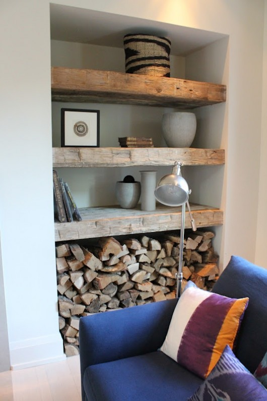 Delightful Firewood Storage