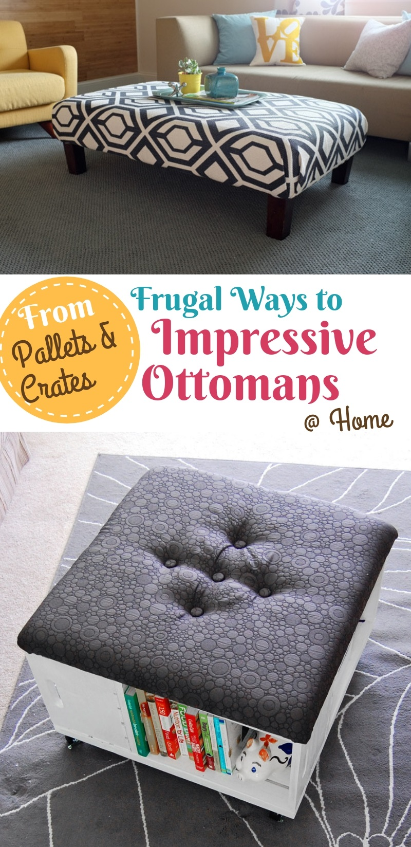 Diy Ottoman Storage Easy