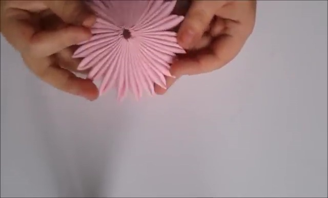 How to Ribbon Flower with Pearl Beads (17)