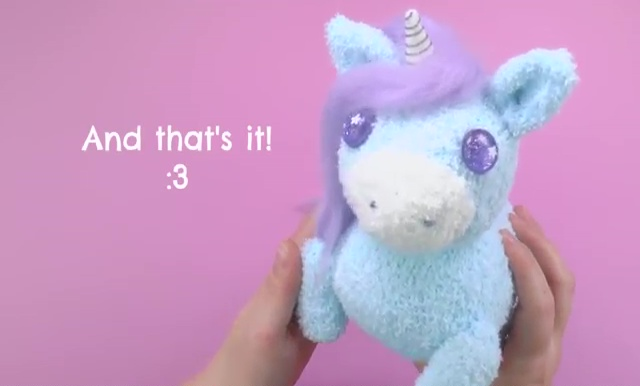 How to make a socks unicorn (65)