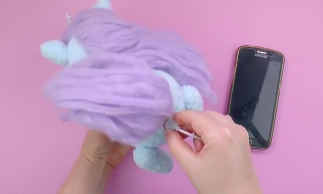 How to make a socks unicorn (66)