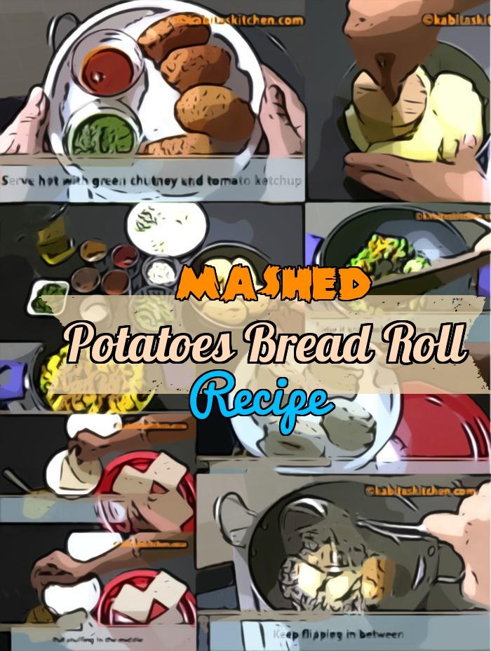 Mashed Potaotoes bread roll recipe