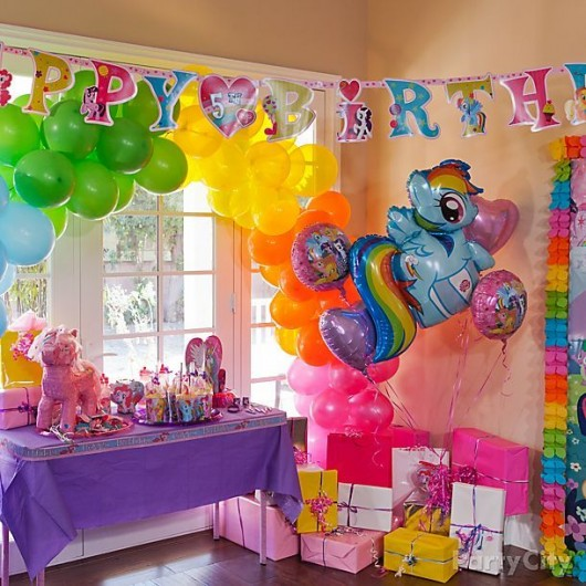 Exciting my little pony birthday party ideas for kids for B day party decoration