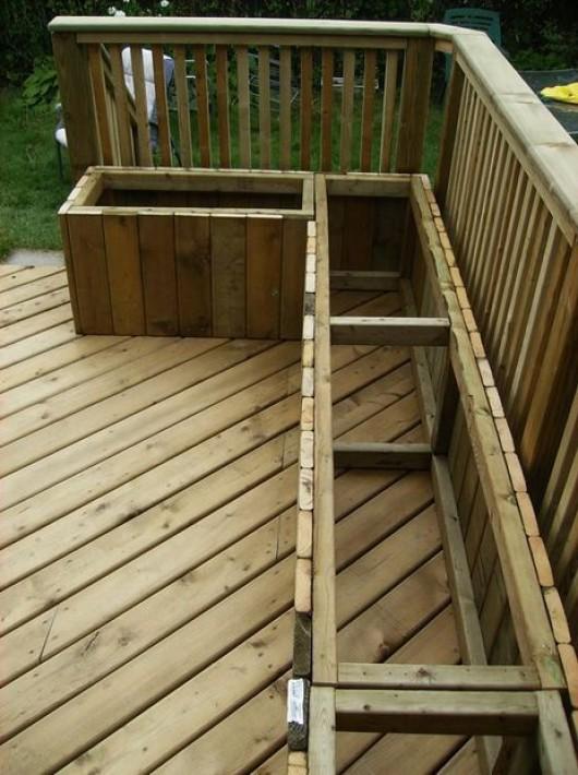 19 Diy Outdoor Bench And Storage Organization Ideas