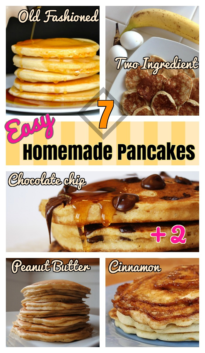how to make homemade pancake batter